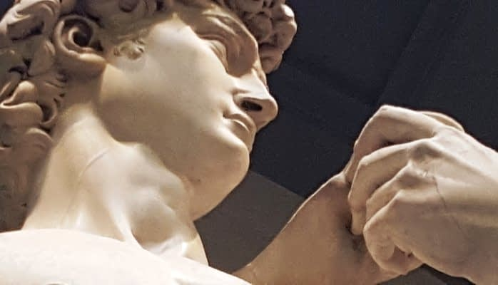 Statue of David from Florence