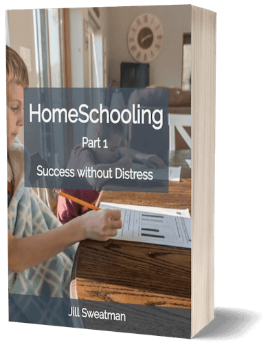 Book cover page for HomeSchooling: Success without distress